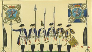 Illustration of the Von Bose Regiment