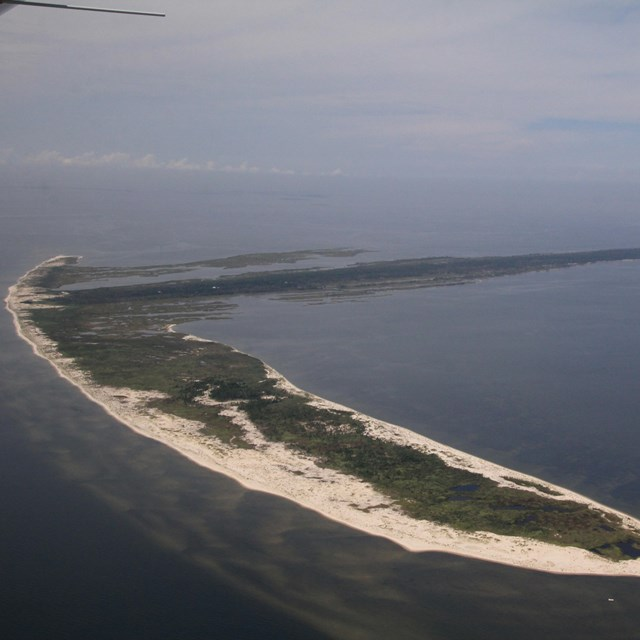 Aerial image of Cat Island