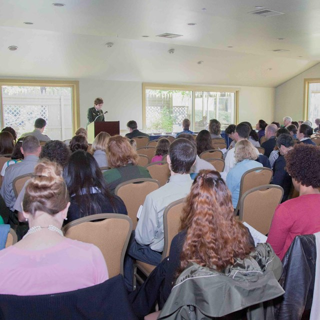 Image of a NPS Public Meeting