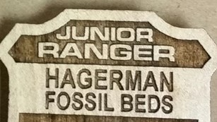 You too can become a Hagerman Fossil Beds Jr Ranger