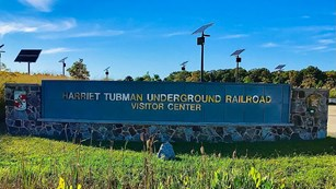 Entrance to the Harriet Tubman National Historical Park