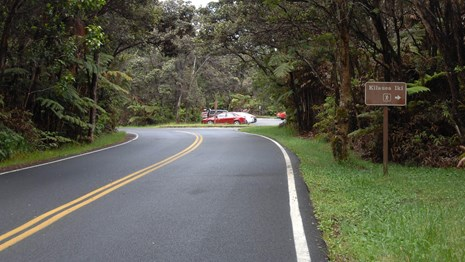 Take the Crater Rim Drive Tour