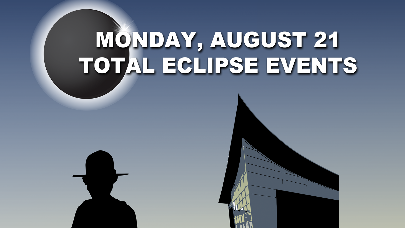 Monday, August 21 - Totality Schedule