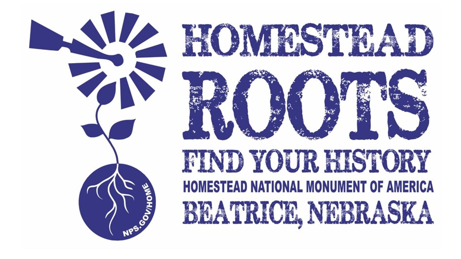 Homestead National Monument Roots Tech Logo.