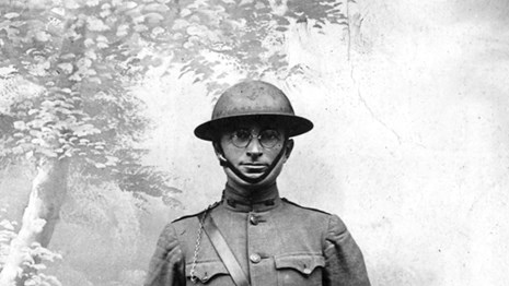 Harry S Truman, future Commander in Chief, proudly serving in World War I