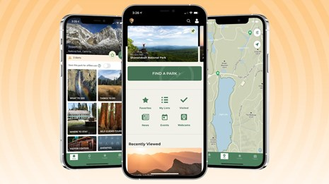 Explore 420+ Parks with one NPS App