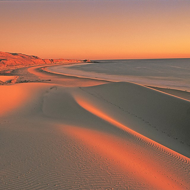Sand dunes at sunset. ©Tim Hauf, timhaufphotography.com