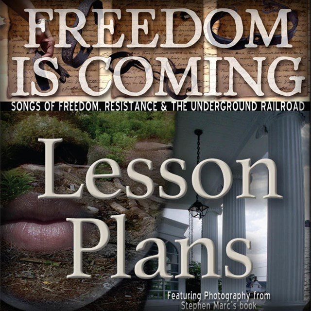 Freedom is Coming Book and CD - Lesson Plans