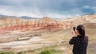 Painted Hills Unit consists of fossilized soils from wet forests no longer found in eastern Oregon.