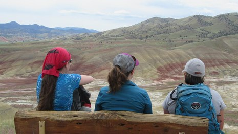 Enjoy hiking trails and other outdoor activities at John Day Fossil Beds.