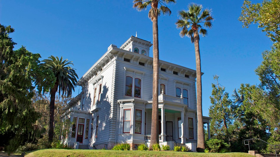 John Muir home in Martinez, California.