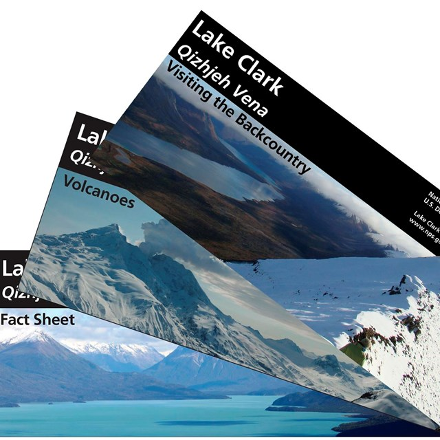 photo of three brochure covers fanned out