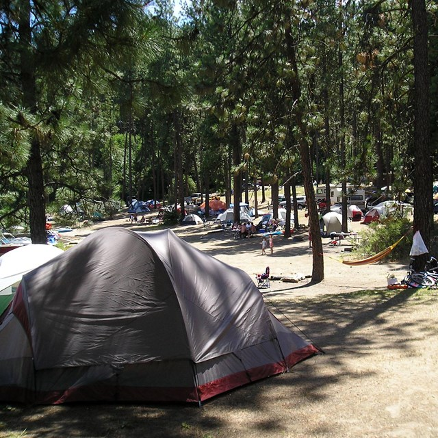Campgrounds Lake Roosevelt National Recreation Area Us National