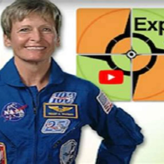 Astronaut with Expeditionary Skills logo