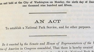 Laws Relating to the National Park Service