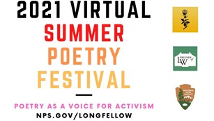 2021 Virtual Summer Poetry Festival: Poetry as a voice for activism