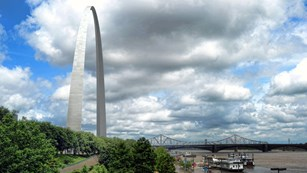 Gateway Arch at Jefferson National Expansion Memorial
