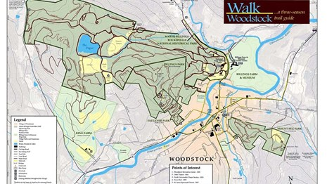 Walk Woodstock map