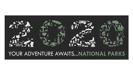 NPS 2020 Adventure Awaits Logo