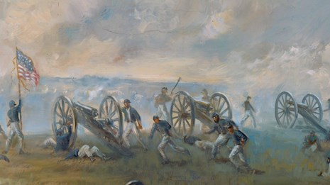 Capture of Ricketts' Battery by Sidney King