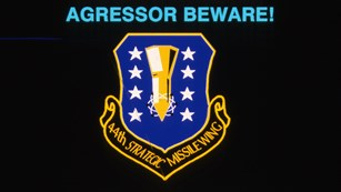 Historic Air Force Presentation Slide with the 44th Missile Wing logo