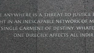 Words engraved on the memorial