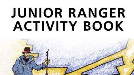 Cover image of the Junior Ranger Book