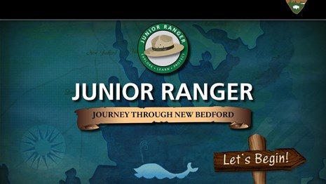 Colorful cover of the Junior Ranger e-book