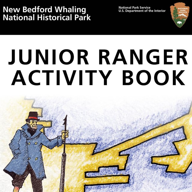 Front cover of the parks Junior Ranger book