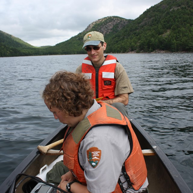 Water quality monitoring in Acadia