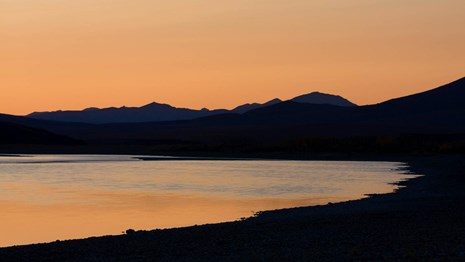 Sunset on the Noatak