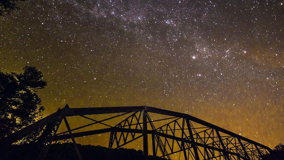 Obed Wild & Scenic River designated as International Dark Sky Park.