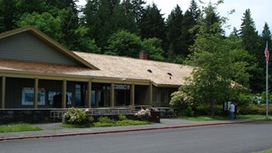 Olympic National Park Visitor Center and Wilderness Information Center in Port Angeles.