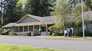 Olympic National Park Visitor Center in Port Angeles.