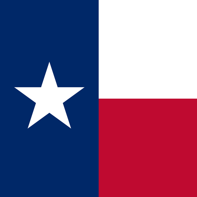 Image of the Texas Flag