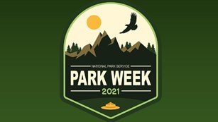Logo for National Park Week 2021