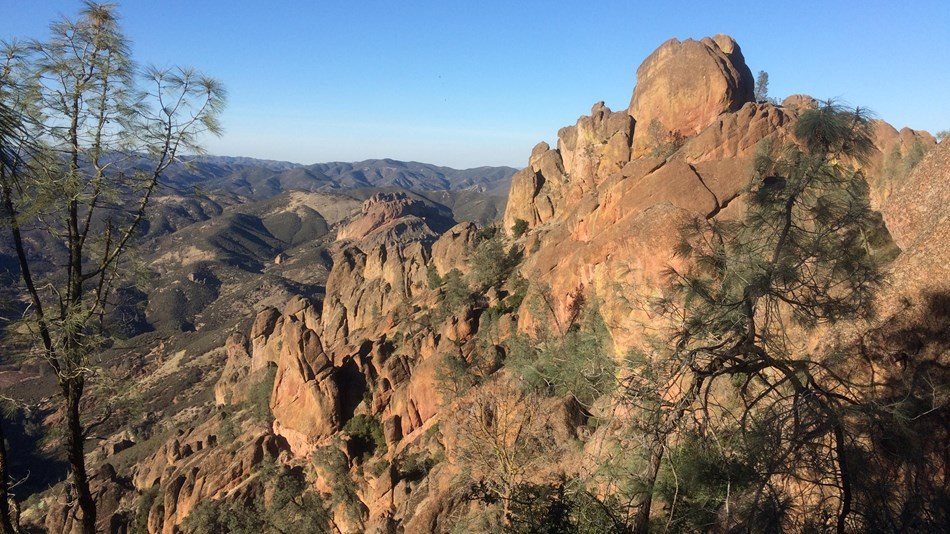Hiking at Pinnacles