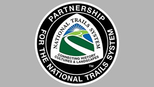 Partnership for the national trails system logo.
