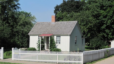 Birthplace of Herbert Hoover in West branch, Iowa