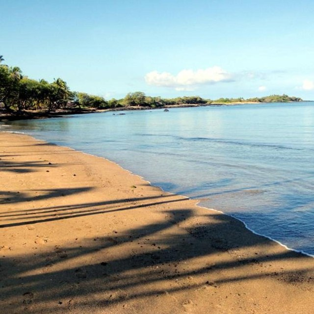 Beach views along the Ala Kahakai National Historic Trail
