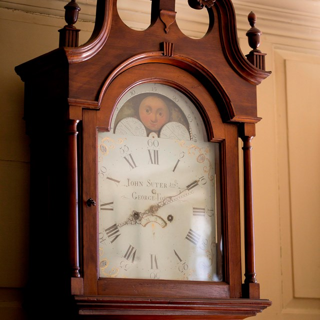 Clock made by John Suter in 1810's