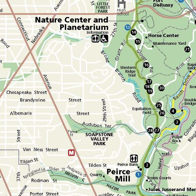 Rock Creek Park Map Basic Information   Rock Creek Park (U.S. National Park Service)