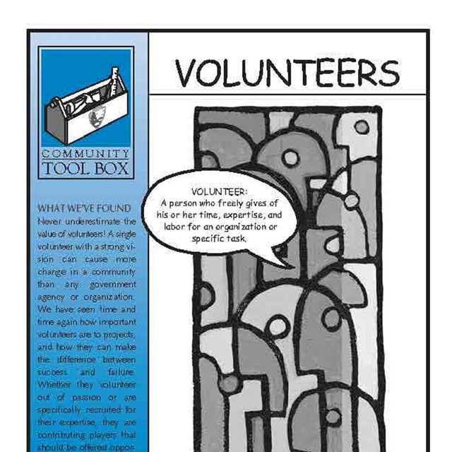 Front page of RTCA Volunteer Toolkit
