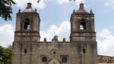 Church at Mission Concepcion