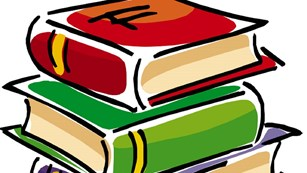 clip art of stack of books