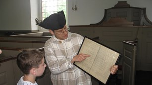 A field trip to Saint Paul's Church is a trip back in time.