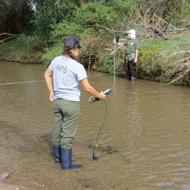 Stream monitoring in the Sonoran Desert