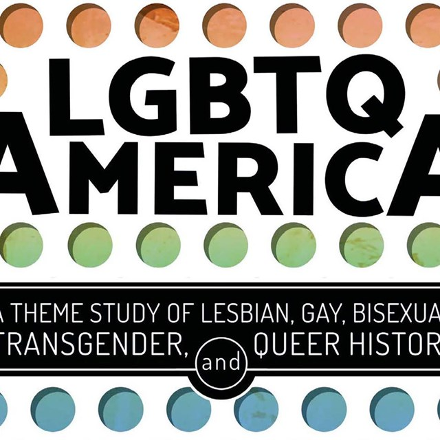cover of the LGBTQ theme study