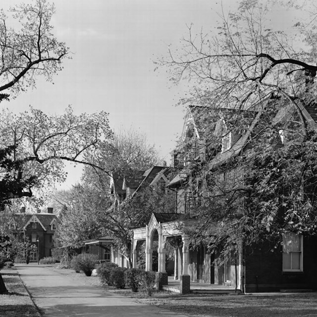 Gallaudet University Campus, HABS. Library of Congress photo