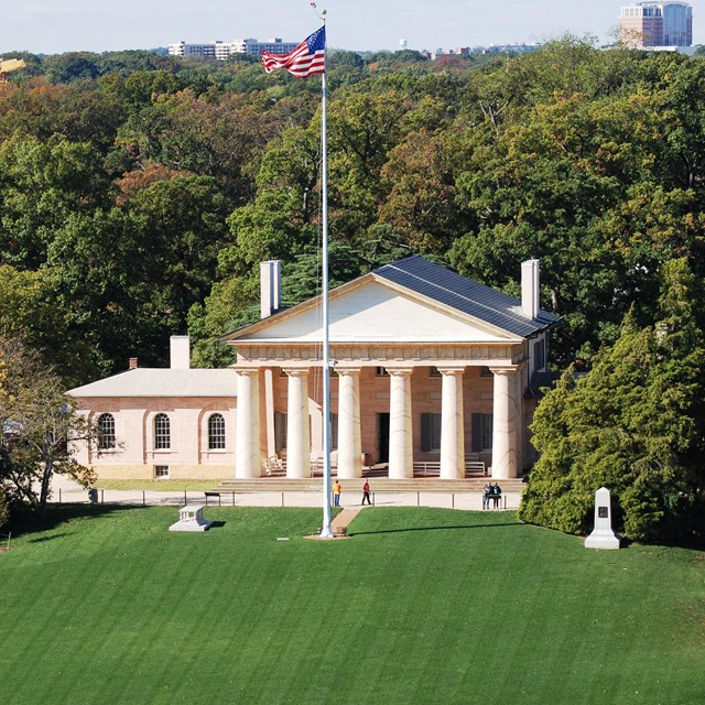 Arlington House, The Robert E. Lee Memorial.
